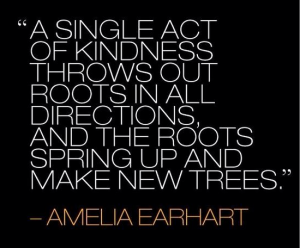 single act of kindness